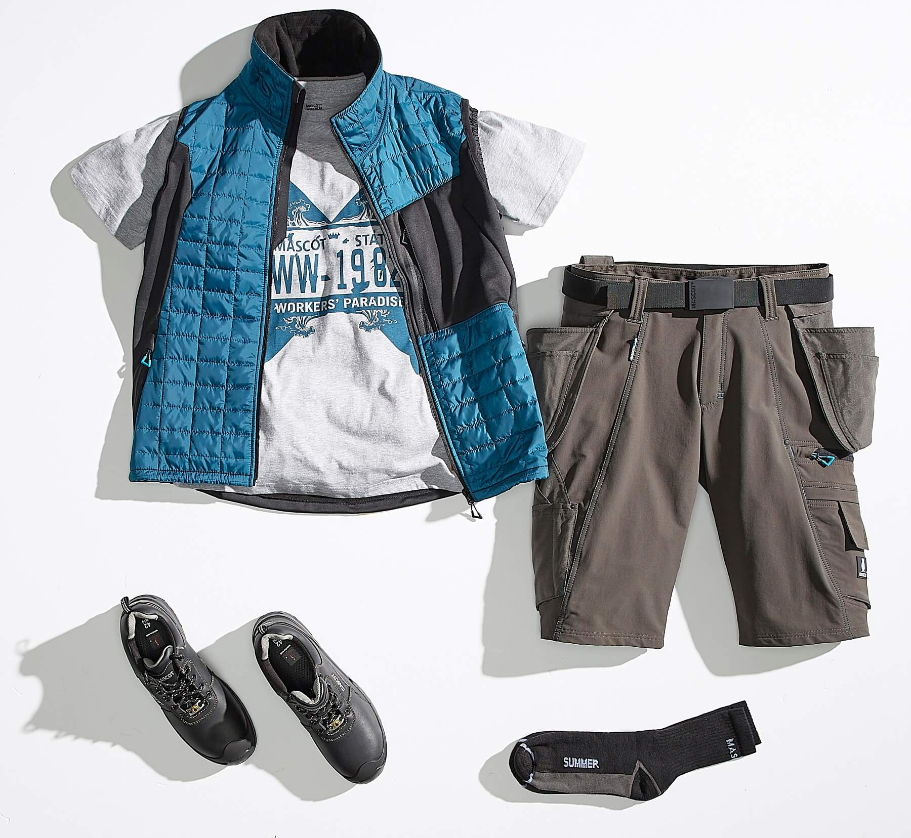 Collage - Vest, T-skjorte & Shorts - ADVANCED