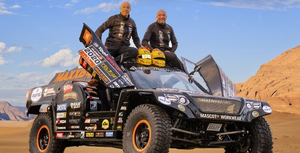 Tim & Tom Coronel - The Beast - Dakar