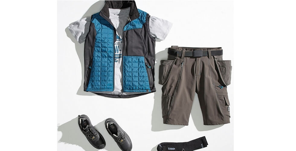 Lett vest & Håndverkershorts - MASCOT® ADVANCED - 2018 Pressesenter
